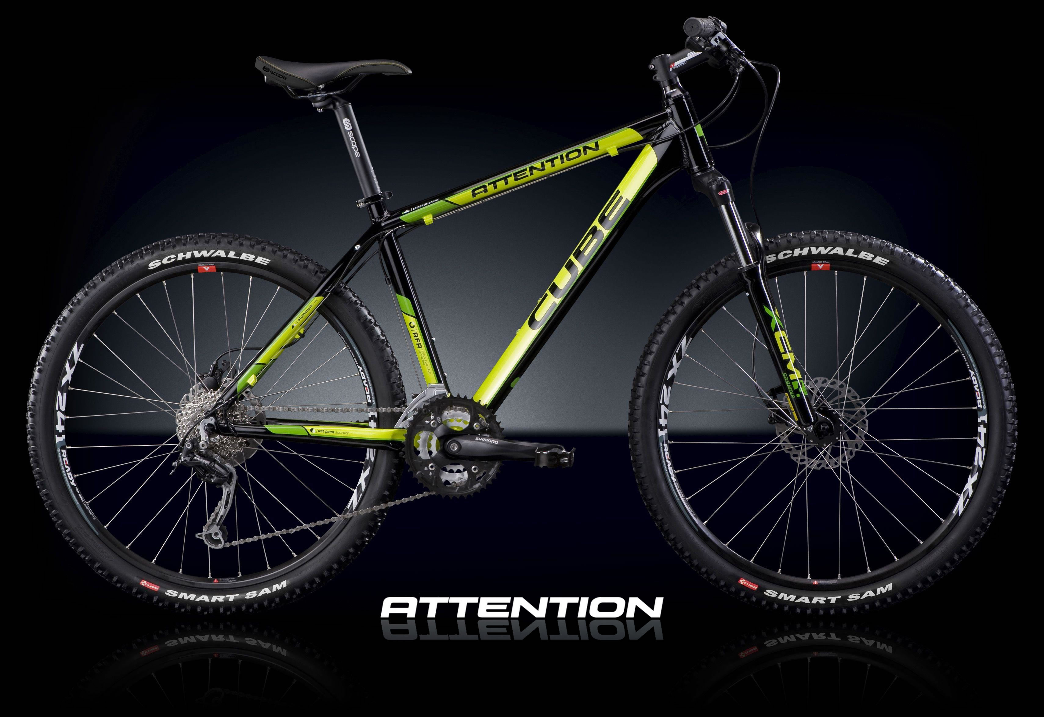 Mein Bike: Cube Attention 20- Mountainbike Forum